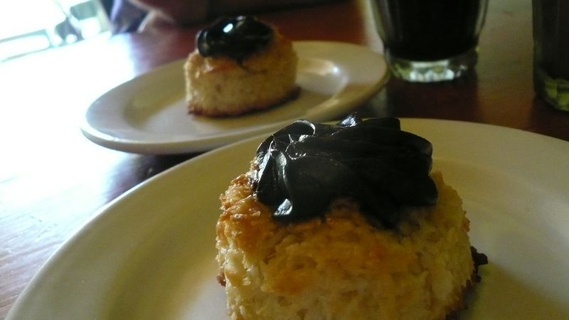 Coconut Macaroons with Chocolate Ganache!!!!!!!!!!!!!!!!!