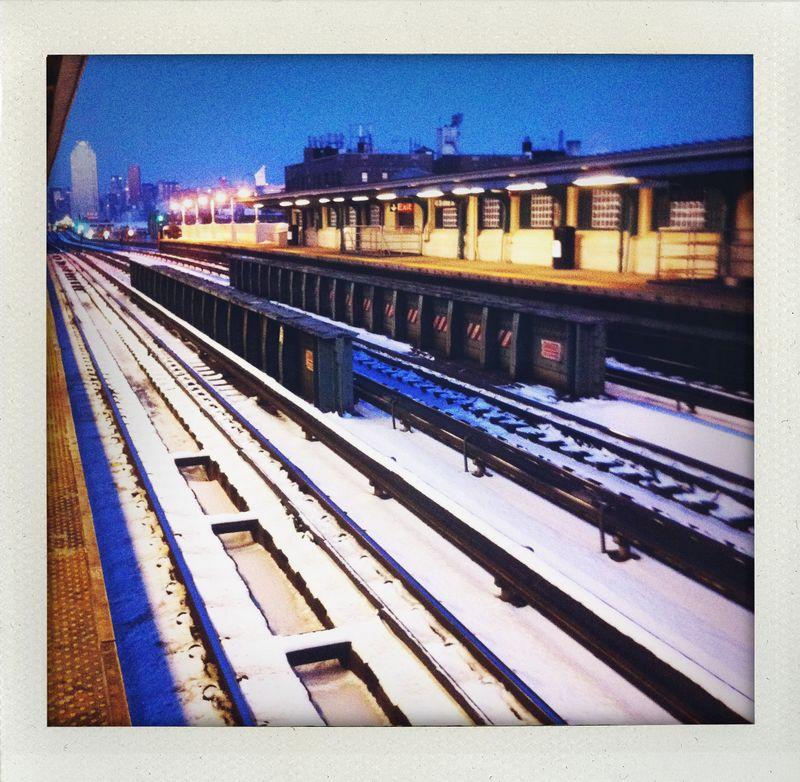 early sunday train travel.