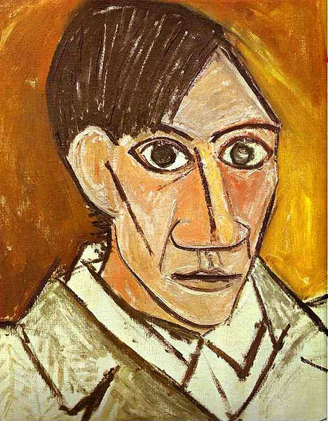A Completed Portrait of Picasso